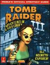 Tomb Raider 3 Official Strategy Guide