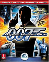 Bond 007: Agent Under Fire Official Strategy Guide Book