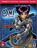 Oni Official Strategy Guide Book