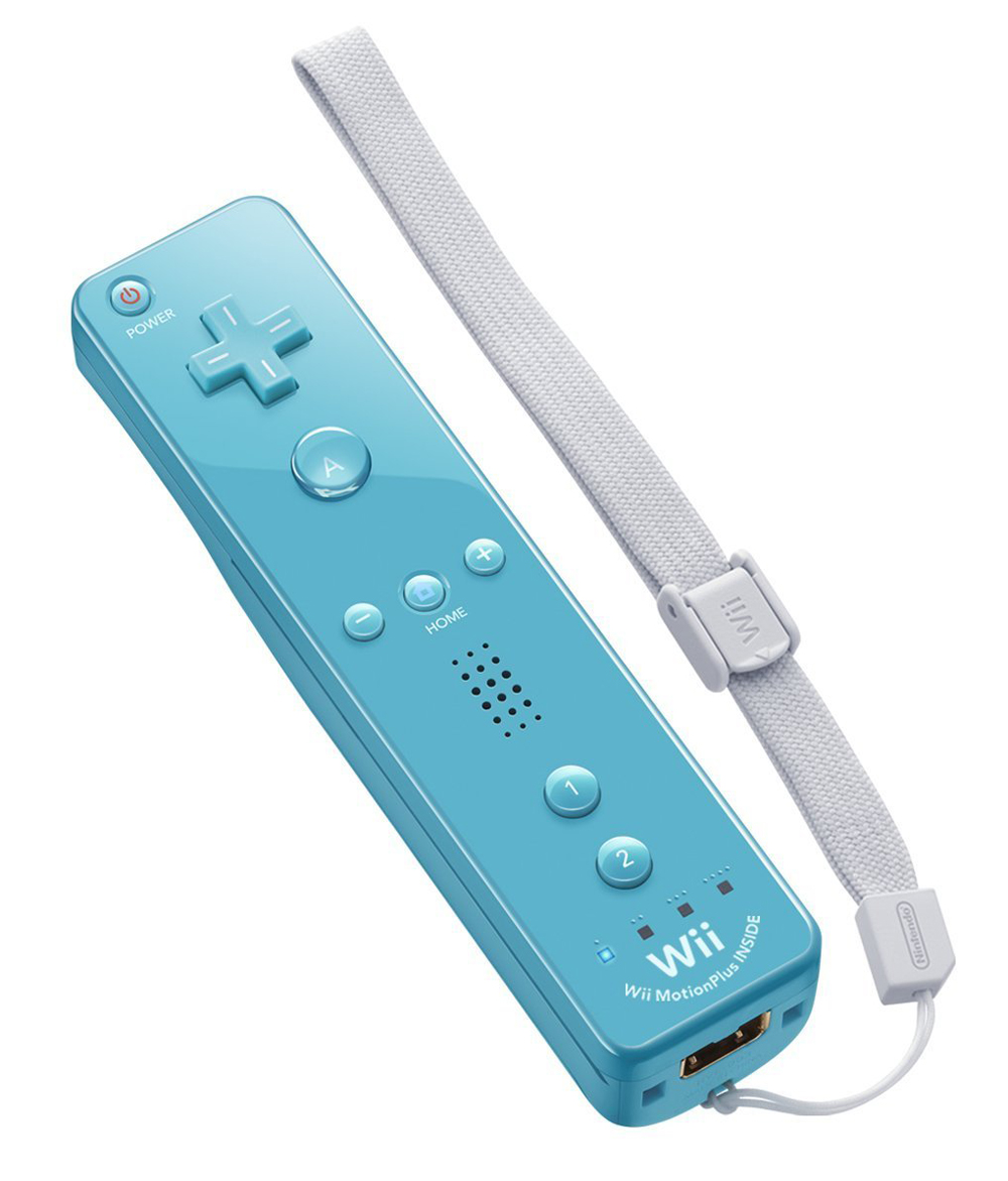 Nintendo Wii Remote Plus Blue by Nintendo