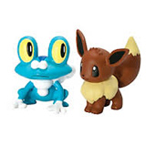 Pokemon X & Y Froakie Vs. Eevee