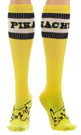 Pokemon Pikachu Yellow Athletic Knee Socks