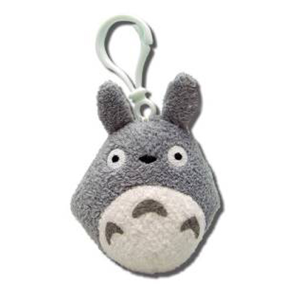 My Neighbor Totoro Backpack Clip Gray