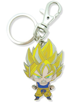 Dragon Ball Z Super Saiyan Goku Metal Keychain