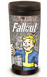 Fallout Vault Boy 16oz Travel Mug
