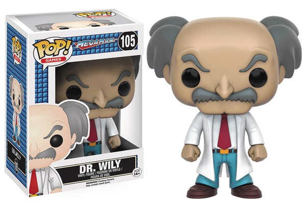 Pop Games Megaman Dr. Wily Vinyl Figure