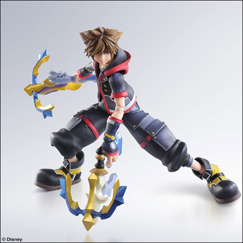 Kingdom Hearts III Sora Play Arts Kai Action Figure 1