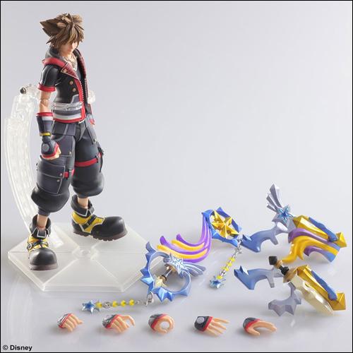 Kingdom Hearts III Sora Play Arts Kai Action Figure 2