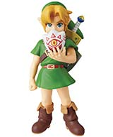Legend of Zelda Majoras Mask 3D Link Ultra Detail Figure