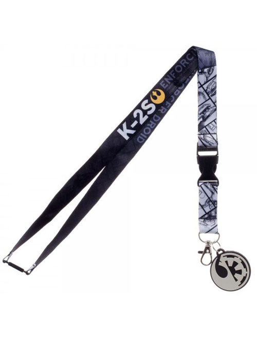 Star Wars Rogue One K-2S Lanyard With Charm