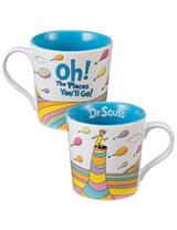 Dr. Seuss: Oh the Places You'll Go 12 oz Ceramic Mug