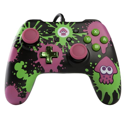 Nintendo Switch Wired Controller Plus: Splatoon 2 Edition