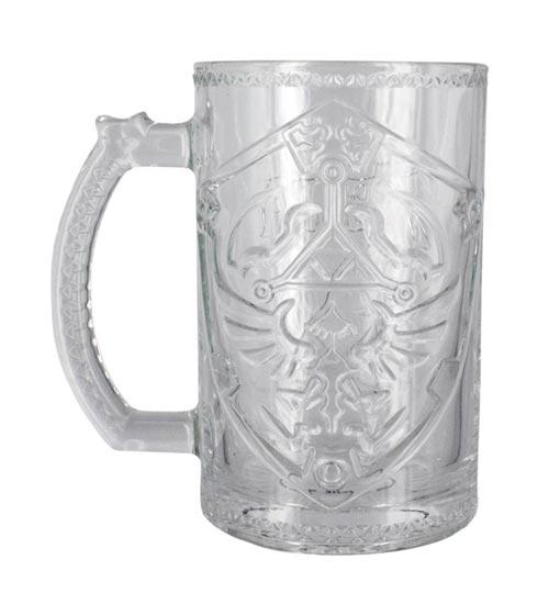 Legend of Zelda Hylian Shield Glass Mug