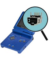 Game Boy Advance SP Repairs: Link Port Replacement Service
