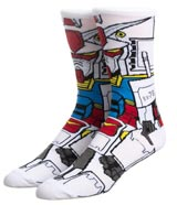 Mobile Suit Gundam RX-78 360 Crew Socks