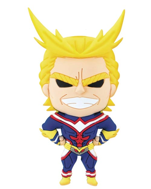 My Hero Academia All Might 3D Foam Magnet
