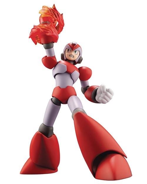 Mega Man X Rising Fire Version Plastic Model Kit