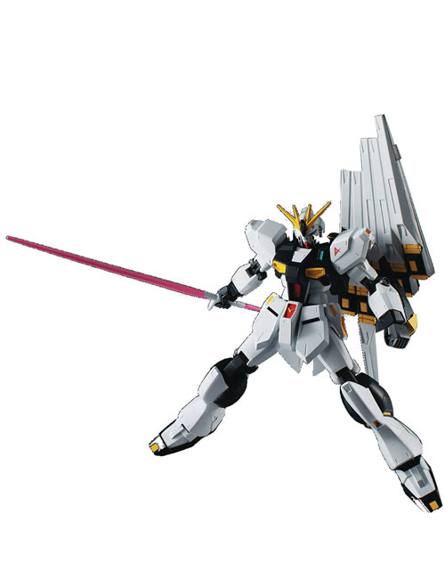 Mobile Suit Gundam Char's Counterattack RX-93 Nu Gundam Universe Action Figure