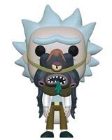 Pop Animation Rick & Morty Rick with Glorzo Vinyl Figure