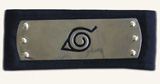 Naruto Metal Headband Black
