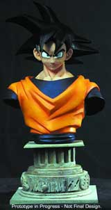 DragonBall Z Goku Mini Resin Bust
