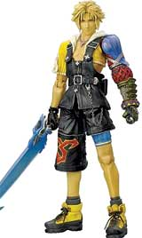 Final Fantasy X Play Arts Tidus Action Figure