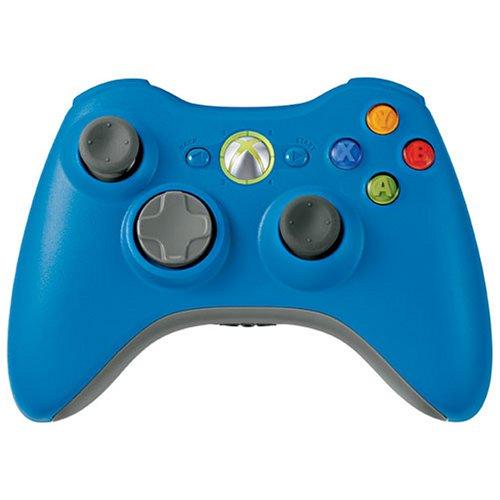 Xbox 360 Wireless Controller Blue Microsoft