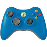 Xbox 360 Wireless Controller Blue Microsoft