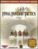Final Fantasy Tactics Official Strategy Guide