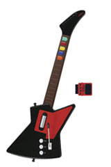 PS2 Front Man Wireless Carbon Guitar Controller by Nyko