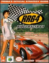 Ridge Racer 64 Official Strategy Guide Book