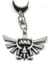 Legend of Zelda: Twlight Princess Triforce Keychain