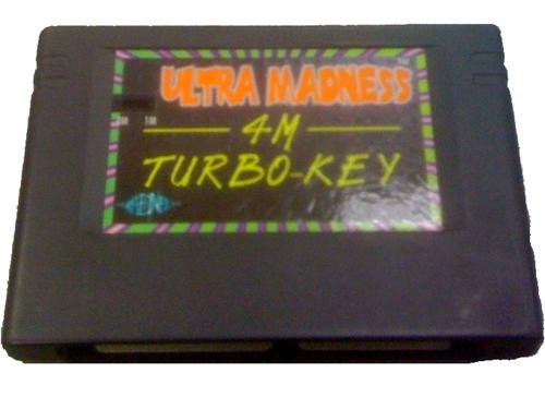 Saturn Ultra Madness 4MB Turbo-Key
