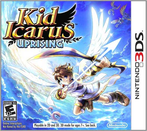 Kid Icarus: Uprising with 3DS Stand