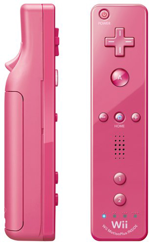 Nintendo Wii Remote Plus Pink by Nintendo