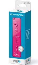 Nintendo Wii Remote Plus Pink by Nintendo