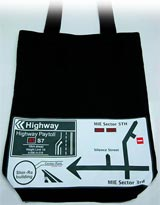 Final Fantasy VII: Advent Children Highway Tote Bag