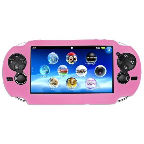 PlayStation Vita Soft Silicone Case Pink