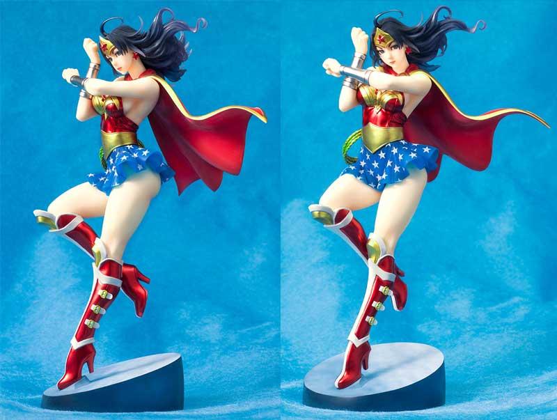 DC Comics Armored Wonder Woman Bishoujo Statue 2nd Edition extra img