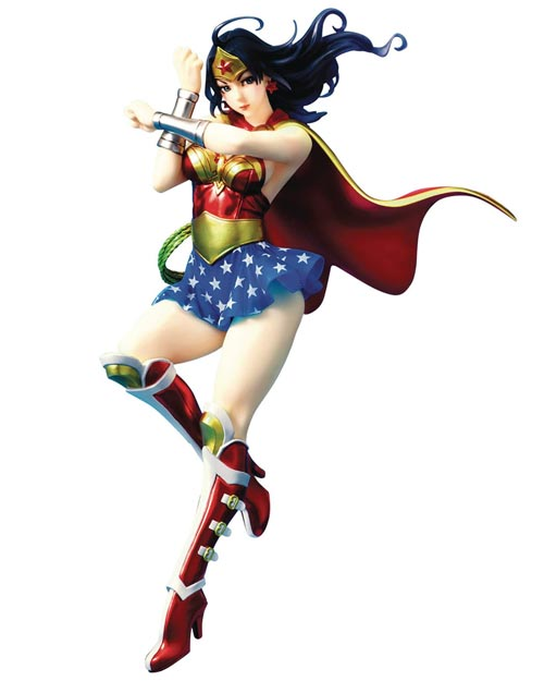 DC Comics: Armored Wonder Woman Bishoujo Statue 2nd Edition