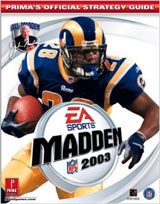 Madden NFL 2003 Official Strategy Guide