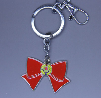 Sailor Moon Metal Bow Keychain