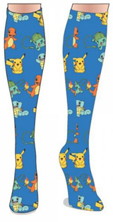 Pokemon Starter Pokemons Knee Socks