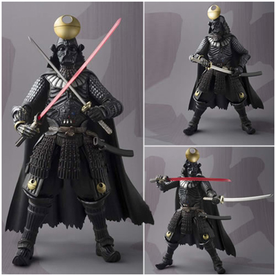 Star Wars Movie Realization Samurai Darth Vadar Death Star Version Action Figure