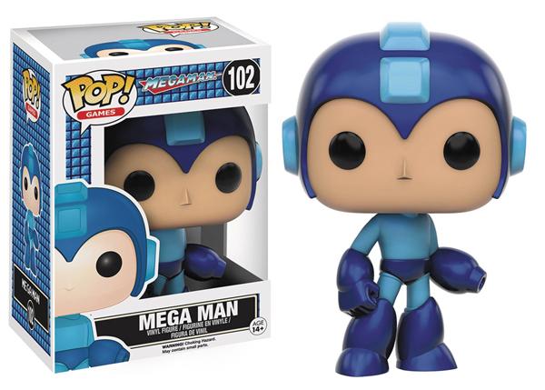 Pop Games Mega Man Vinyl Figure