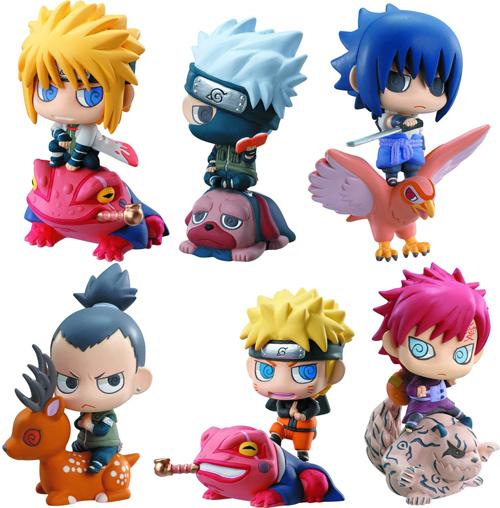Naruto Shippuden Petit Chara Land Kuchiyose no Jutsu Figures