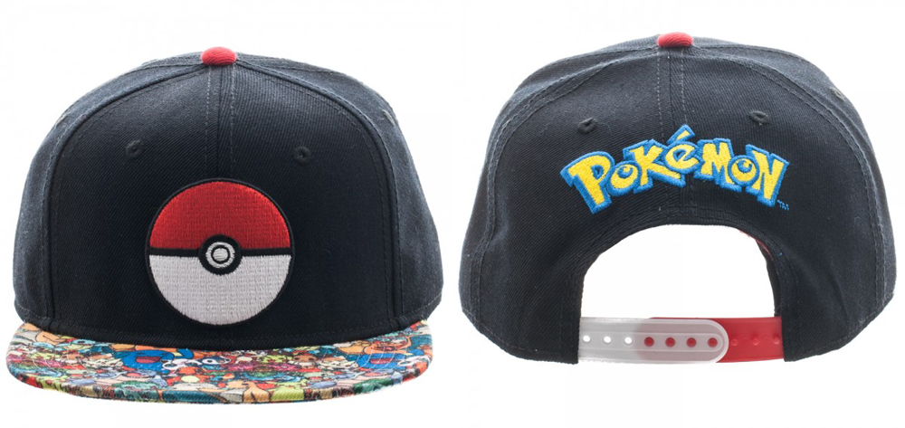 Pokemon Sublimated Bill Snapback