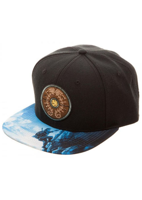 Legend of Zelda Breath of the Wild Shield Sublimated Bill Snapback