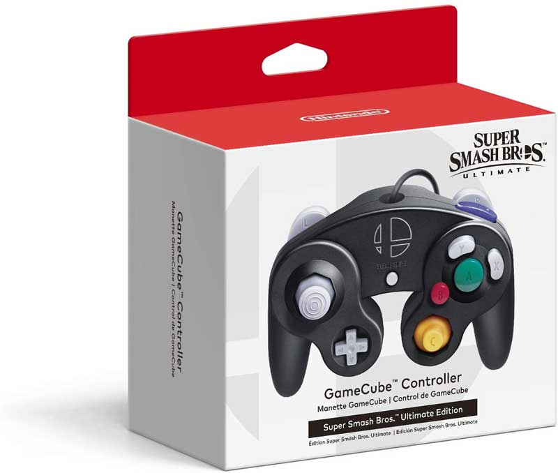 GameCube Controller Super Smash Bros Ultimate Edition box