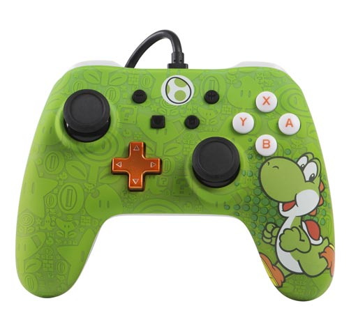 Nintendo Switch Wired Controller Plus: Yoshi Edition